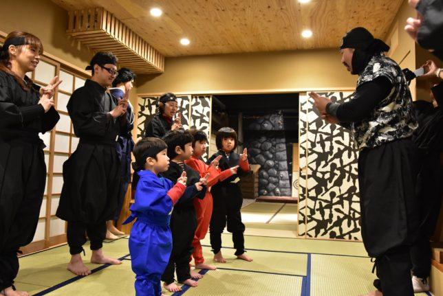 北海道忍者道のスタート