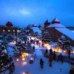 余市町の夜を楽しむ「余市ゆき物語」ニッカ蒸留所冬のナイトツアーとフォトサービス