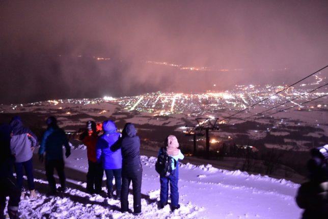 岩字地区の冬の体験モニターツアー2〜IWANAI RESORTナイトキャットツアーと清寿司支店