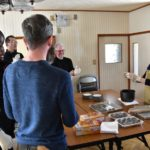 岩字地区の冬の体験モニターツアー3〜共和町でおはぎづくり体験