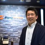 北海道ITソリューション協会の代表理事に就任したマネーフォワードの平野龍一さんを取材