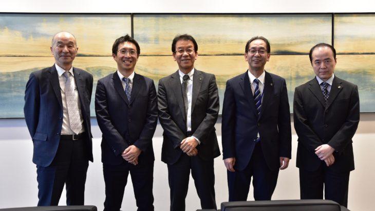 道内最大手のゼネコン岩田地崎建設での対談記事を制作
