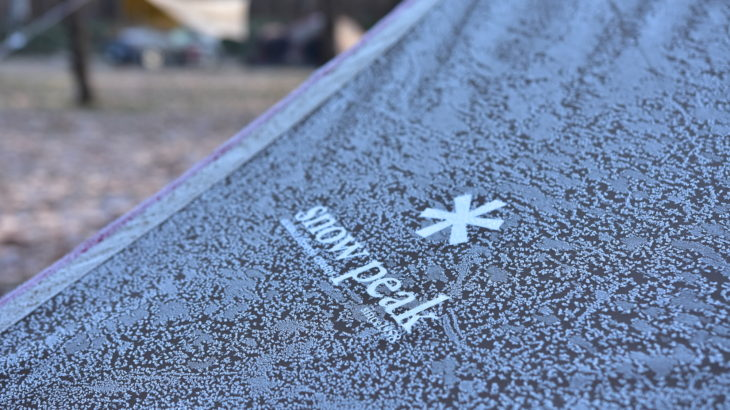 初冬のキャンプ場〜スノーピーク十勝ポロシリキャンプフィールド