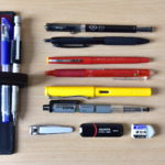 「おしゃれな人が毎日、使うもの」という雑誌の特集から、わたしのペンケースをご紹介