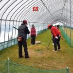 真冬でも室内でパークゴルフができる、新十津川室内パークゴルフ場