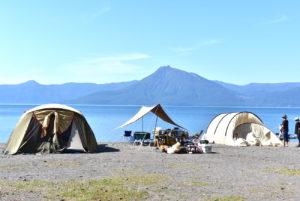 支笏湖モラップキャンプ場