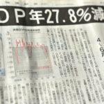 「GDP年27.8%減、戦後最悪」という衝撃