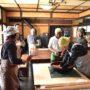余市町の「茶話」でそば打ち体験