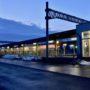 ブルーアワーの風景〜JRいしかりとうべつ駅
