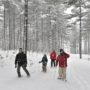 富良野の麓郷で冬のインドア・アウトドア体験〜富良野未来塾2018